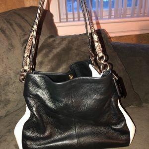 Like new Coach leather purse